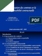 Exposé Droit Des Contrats