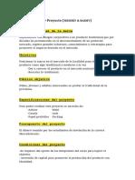 Briefing CORTO Proyecto