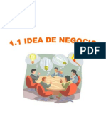 1. Determinación de la idea de negocio