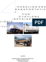 Handling and Transportation Guide for Ethylene Refrigerated Liquid Cryogenic Ethylene