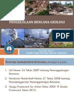 3. Manajemen Bencana Geologi