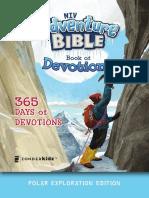 NIV Adventure Bible Book of Devotions