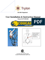 Cougar Safety Cable System User Installation Instruction Manual
