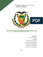 Bycace s.a. Informe de Comisario