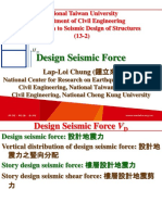 107 1 NTU SDS 13 2 Design Seismic Force