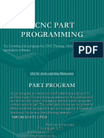 Chapter 3.Cnc Part Programming