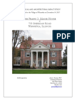 Historical Architectural Impact Study of 735 Sheridan Road in Winentka
