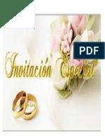 Sobre de Matrimonio