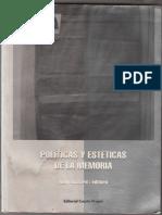 Richard; Déotte. Políticas y estéticas de la memoria.pdf