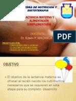 3. Lactancia Materna y Alimentación Complementaria