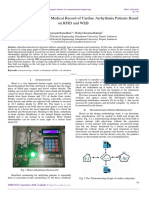 Design of Telemonitoring Medical Record of Cardiac Arrhythmia Patients Based on RFID and WEB