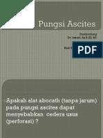 Pungsi Ascites