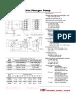 110Q Pump Catalog Sheet