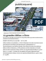 25 Ideas Do Novo Urbanismo