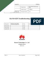 RAN10 KPI Troubleshooting Guide 20090306 a V1.0_HW