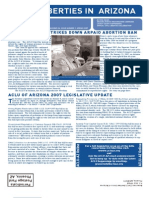 Nick Hentoff - New York City Civil Rights Attorney -  Mentioned in Arizona Civil Liberties Union's Spring 2007 Newsletter Report on Harris v. ACardwell, a prison conditions class action lawsuit