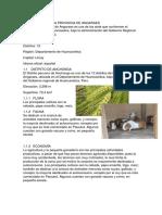 Ecología en La Provincia de Angaraes