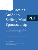 The Tactical Guide to Sponsorship Sales 1