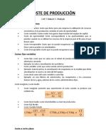 Resumen Coste de Producción - Capitulo 7 (Pyndick)