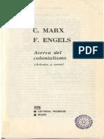 Acerca del colonialismo - Marx e Engels.pdf