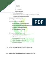 Informe de Los Procesos de Reclutamiento, Selección y Orientación