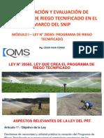2. Módulo I - Reglamento Del PRT 2015 280215
