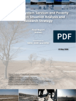 China ecosystem services and poverty alleviation