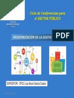 Modernizacion de La Gestion Publica Luis Arturo Garcia Cossio