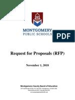 MPS Charter Schools RFP - 2018