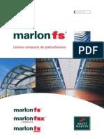 Catalogo Policarbonato Marlon FS Compacto