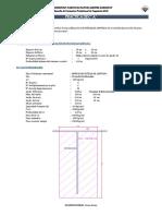 Pregunta 01 Diseño de Cimientos Corridos Para Muros de ductilidad limitada
