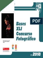 Bases Concurso Fotografia 2018