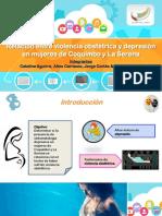 Violencia Obstétrica y Depresión (Aguirre, Carrasco, Cortés & Pastén)