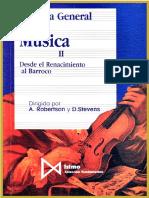 Robertson & Stevens - Historia General de La Música II