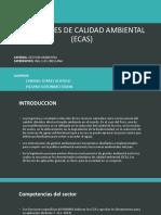 Estandares de Calidad Ambiental (Ecas)