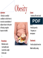 Trabalho de Ciências- Em Inglês Obesidade
