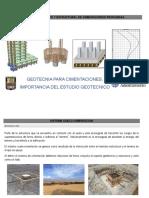 Geotecnia Para Cimentaciones (Importancia Del Estudio Geotecnico)