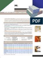 Ficha Tecnica Placa de Gypsum Gyplac