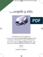 Evangelio y Vida Noviembre - Diciembre 2018