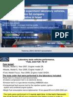 BOSCH Ledico Ford Focus Fuel Doctor FD 47 Test Results