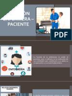 Relación Enfermera Paciente