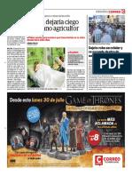 Deja Ciego al Agricultor Correo Huancayo