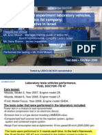 BOSCH Ledico Mazda 3 Fuel Doctor FD 47 Test Results
