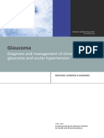 The National Collaborating Centre for Acute Care-Diagnosis and Management of Chronic Open Angle Glaucoma and Ocular Hypertension_Methods, Evidence & Guidance -National Collaborating Centre for Acute