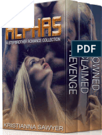 Alphas- A Stepbrother Romance Collection by Kristianna Sawyer