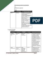 Estructura Del Proyecto de Inversión 1