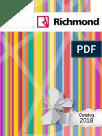 Catalogo Richmond 2018