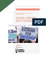 Resumen Informe comisión investigadora CAE