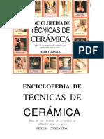 Cosentino, Peter. Enciclopedias de Técnicas de Cerámica