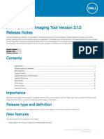Dell Wyse USB Imaging Tool v3.1.0 Release Notes V2